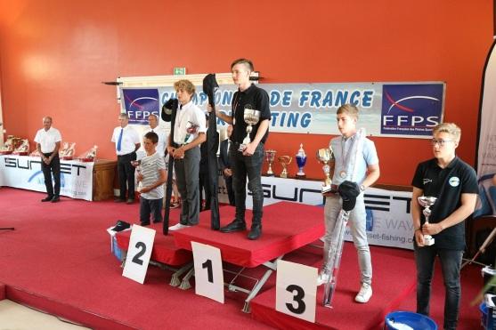 podium classement cadets 2017