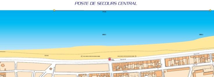 poste de secours central belluga dunkerque securite plage