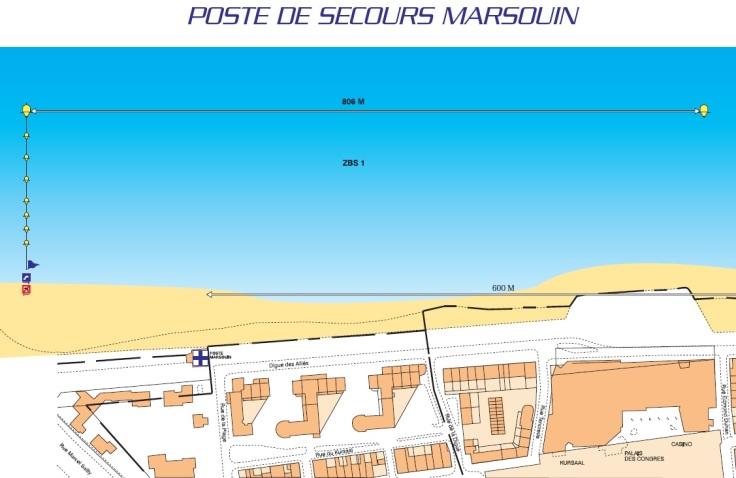 poste de secours du marsouin dunkerque securite plage