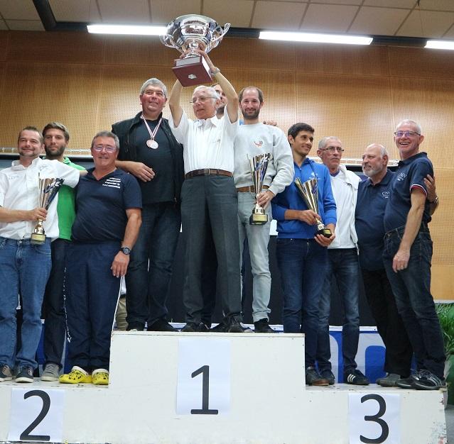 podium comites championnat de france surfcasting 2017