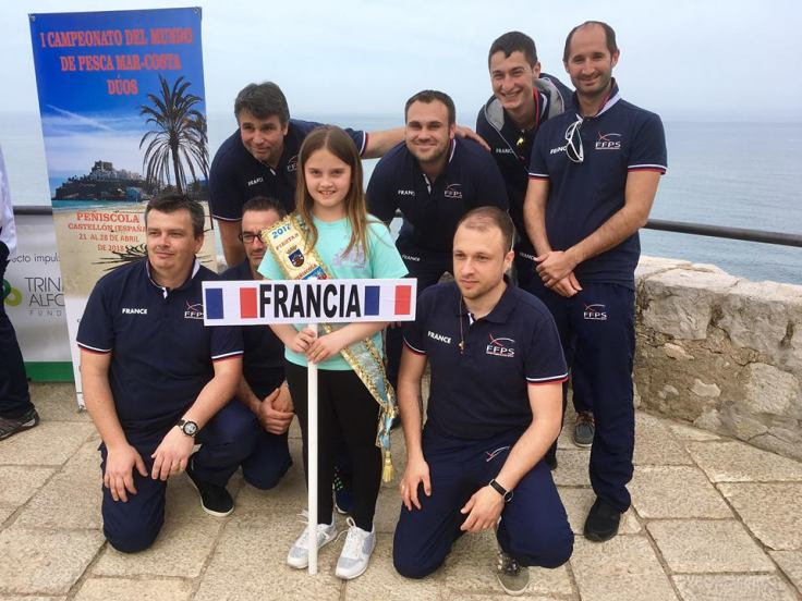 Team France 2018 surfcasting