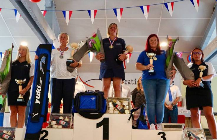 podium dames surfcasting bias 2018