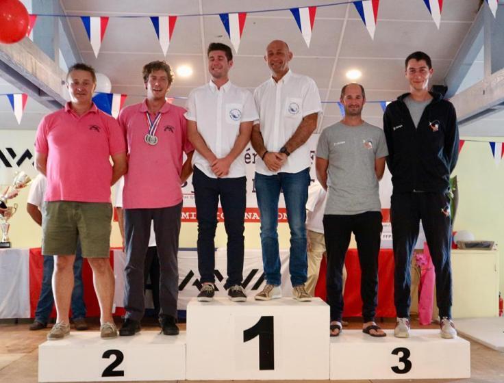 podium paires duos surfcasting bias 2018